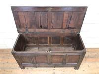 Antique Oak Blanket Box (3 of 13)