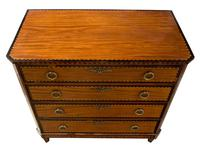 Small Dutch Satinwood Chest of Drawers (2 of 8)
