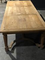 Huge Oak Table from the Bank of France (10 of 21)