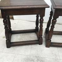 Pair of Oak Coffin Stools Circa Late 17th Century (24 of 24)