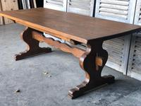 French Farmhouse Trestle Dining Table (12 of 15)