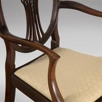 Set of Eight Mahogany Dining Chairs c.1900 (4 of 5)