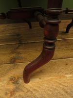 Antique 19th Century Sutherland Table, Drop Leaf Occasional Table for afternoon tea (12 of 17)