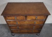 Reproduction Walnut Chest of Drawers In The Style of Queen Anne (5 of 10)