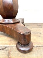 Antique Victorian Mahogany Piano Stool (10 of 10)