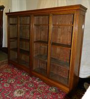Large Oak Bookcase (4 of 5)