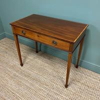 Stunning Georgian Mahogany Antique Side Table (3 of 8)