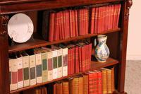 Open Bookcase in Mahogany 19th Century - England (7 of 9)