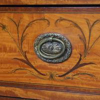Inlaid Satinwood Chest of Drawers by S & H Jewells (4 of 14)
