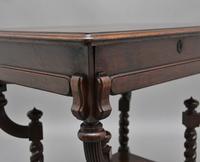 Early 20th Century Metamorphic Oak Desk (8 of 8)