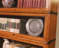 Globe Wernicke Bookcase Called Stacking Bookcase in Oak - 5 Items (6 of 9)