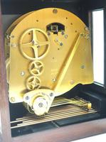 Superb Mahogany Caddy Top Mantel Clock Dual Musical Bracket Clock by Elliott (8 of 9)
