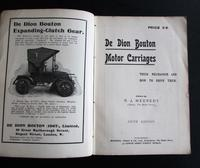 1908 De Dion Bouton Motor Carriages.   Their Mechanism & How to Drive  Them R J Mecredy (2 of 4)
