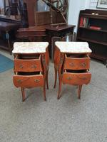 Pair of French Marble Top Tables (3 of 6)
