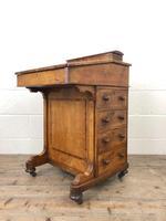 Antique Walnut Davenport Desk (2 of 11)