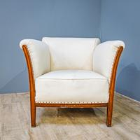 Mahogany Easy Armchair (3 of 8)