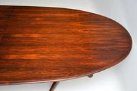 Rosewood & Leather Dining Table & Chairs by AJ Milne for Heals (15 of 22)