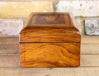 Figured Walnut Tunbridge Table Box 1880 (3 of 7)