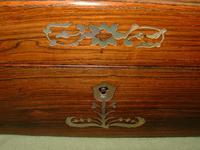 Inlaid Rosewood Jewellery –Table Box c.1850 (6 of 7)