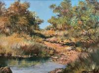 Francois Badenhorst S.A - South African Bush Landscape Oil Painting (2 of 12)