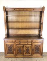 Early 20th Century Antique Oak Dresser