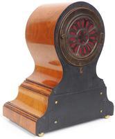 Impressive Solid Walnut Drum Head Striking Mantel Clock PHS Mantle Clock (11 of 12)