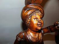 Italian Carved Limewood Torchere (3 of 8)