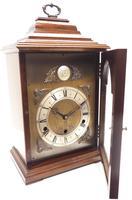 Fine Vintage Caddy Top Mantel Clock Dual Musical Bracket Clock by Elliott (8 of 13)