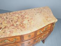 French Louis XV Style Marble Top Commode (6 of 13)
