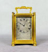 English Fusee Carriage Clock - James Voak of London (2 of 6)