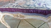 Stylish 19th Century French Upholstered Stool (3 of 6)