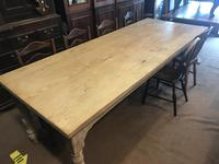 Very Good Late Victorian Antique Pine Table (13 of 14)
