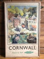 Original British Railways Poster Cornwall by Jack Merriott c.1950 (4 of 14)