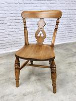 Set of 4  Lyreback Windsor Chairs (6 of 6)