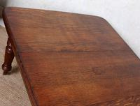 Oak Dining Table 6 Seater Victorian Wild Golden Oak 19th Century Solid (6 of 16)