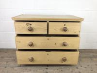 Small Victorian Antique Pine Chest of Drawers (10 of 15)