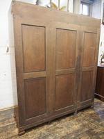 Figured Walnut 3 Door Wardrobe by Whytock and Reid (14 of 14)