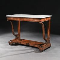 Pair Of Early 19th Century Italian Walnut And Marble Top Console Tables (4 of 10)