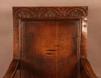 Good 17th Century Wainscot Armchair (2 of 13)