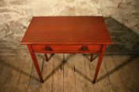 Painted Pine Side Table c.1870 (5 of 5)