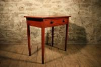 Painted Pine Side Table c.1870 (4 of 5)