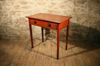 Painted Pine Side Table c.1870 (3 of 5)