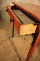 Painted Pine Side Table c.1870 (2 of 5)