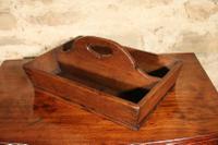 Oak Cutlery Tray c.1890 (2 of 3)