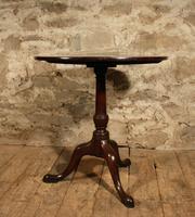 Georgian Mahogany Tripod Table (2 of 4)