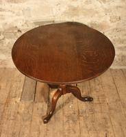 Georgian Oak Tripod Table (3 of 4)
