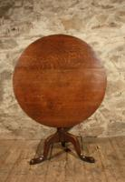 Georgian Oak Tripod Table (4 of 4)