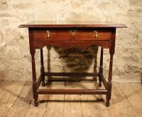 18th Century Oak Side Table (6 of 7)