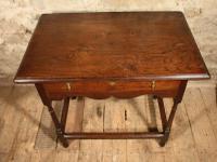 18th Century Oak Side Table (7 of 7)