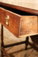 18th Century Oak Side Table (3 of 7)